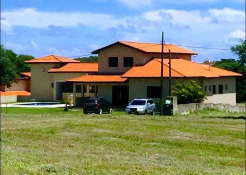 Belíssima Casa De Campo A Venda No Condomínio Ninho Verde I Eco Residence - 1301