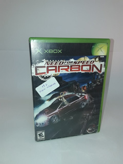 Juego Xbox Need For Speed Carbon