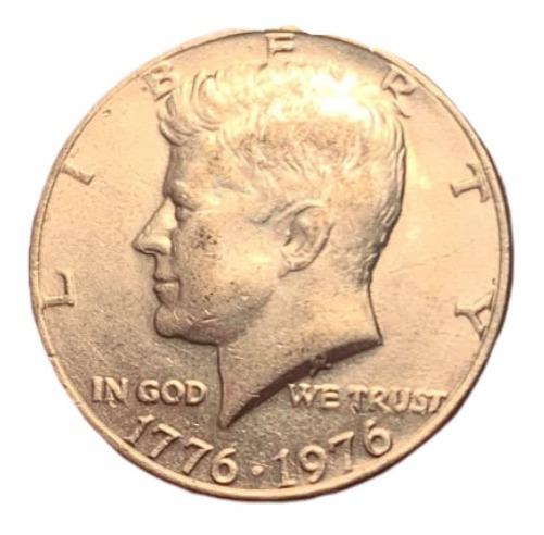 Moneda Usa Kennedy Half Dollar Conmemorativa Bicentenario