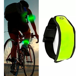 Brazalete Reflectivo Con Luces Led