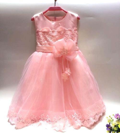 Vestido De Nena Con Tull Y Brillo Importados Para Comunion, Fiestas, Eventos, Fotografia Talle 4 A 10