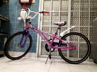 Bicicleta Xterra De Paseo Rodado 24 Casi Nueva De Aluminio