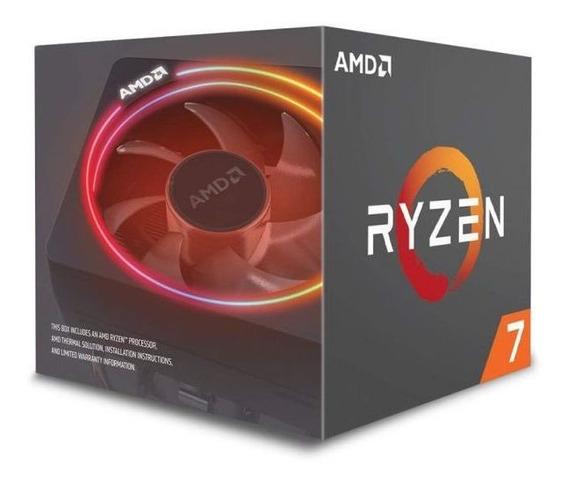 Processador Amd Ryzen R7 2700x 3.7 Ghz 20mb Am4 + Cooler