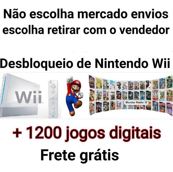 Destrave Turbo (1200 Jogos Digitais) Para Wii + Desbloqueio