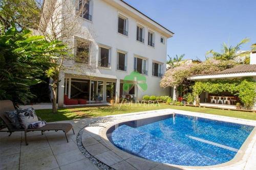 Imagem 1 de 30 de Casa À Venda, 698 M² Por R$ 4.300.000,00 - Morumbi - São Paulo/sp - Ca0231