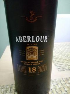 Super Oferta !!!! Whiski Arbelour 18 Años De 500 C.l