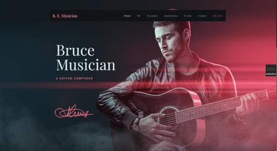 Acoustic Tema De Wordpress Premium Music