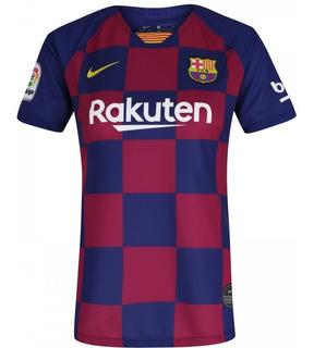 Camisa De Time Do Barcelona 19/20 Frete Grátis