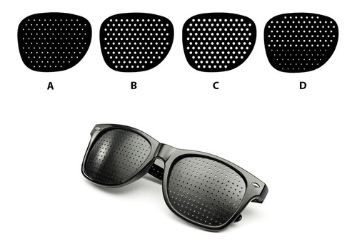 Lentes Y Gafas Reticulares Gimnasia Ocular Pinhole