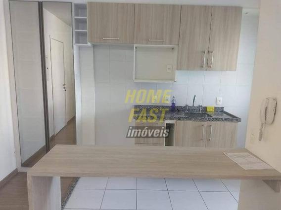 Apartamento Com 1 Dormitório Para Alugar, 29 M² Por R$ 1.600,00/mês - Gopoúva - Guarulhos/sp - Ap1532