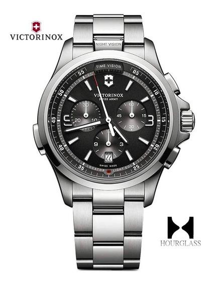Reloj Victorinox Night Vision 241780 Nuevo En Caja