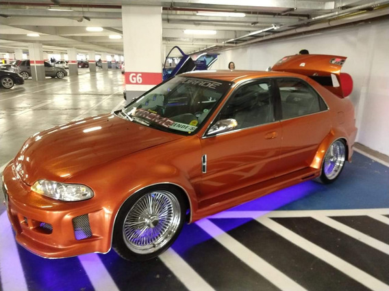Honda Civic 1.5 16v. Aut. Kit Americano Tuning
