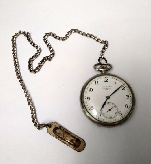 Relógio Antigo De Bolso Longines
