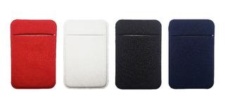 2 Unid Adesivo 3m Porta Cartão Para Celular Em Lycra Estilo Nubank Segurança Pronta Entrega Personalizamos