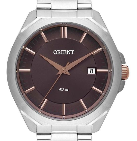 Relógio Orient Masculino Mtss1099 N1sx Prateado Original