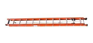 Escada De Fibra Sc, 26 Degraus, Extensível, Efe-16