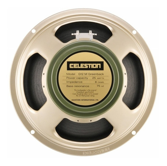 Celestion G12m Greenback - Impulse Response (ir)