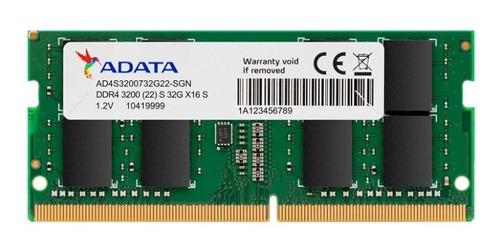 Memória Ddr4 3200mhz 32gb Lenovo Legion 5i Dell 5405 5505