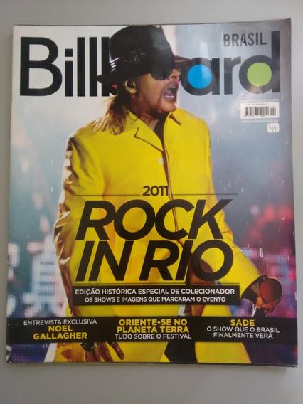 Revista Billboard 24 Rock In Rio 2011 Edição Especial Y065