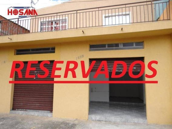 Salão Para Alugar, 30 M² Por R$ 800/mês - Jardim Marcelino - Caieiras/sp - Sl0058