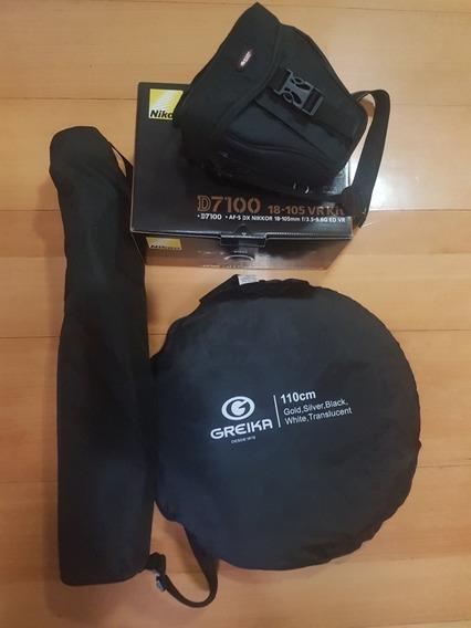 Máquina Fotográfica Nikon D7100 + Brindes