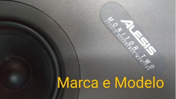 Caixas De Som Para Studio AlesisMonitor Two