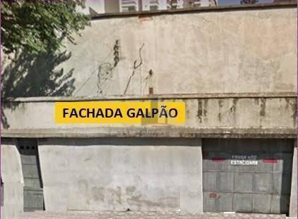 Galpão, 400 M² - Venda Por R$ 1.400.000,00 Ou Aluguel Por R$ 7.000,00/mês - Campestre - Santo André/sp - Ga0044