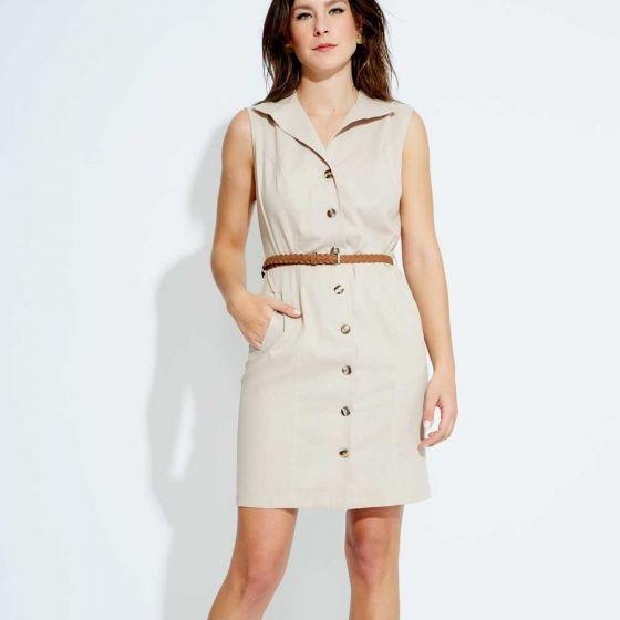 Vestido Casual Yaeli Fashion Arena 820635 Cft 1-19 J