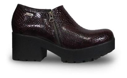 Lady Stork Berenice Zapato Con Cierre Con Plataforma Mujer