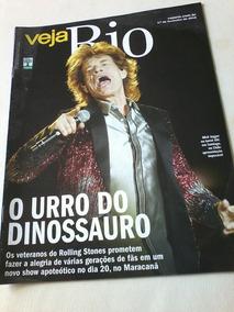 Revista Veja Rio Rolling Stones Sophie Charlotte Mick Jagger