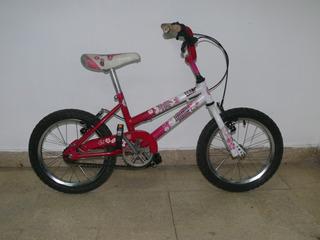 Bicicleta De Niña Marca Umma Rodado 16
