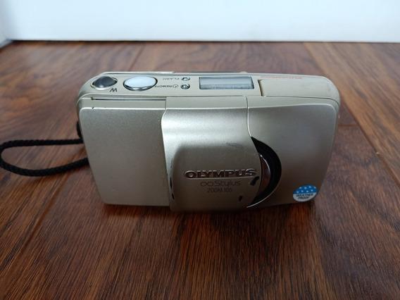 Camera Olympus Stylus Zoom.105 No.estado.sem Testar Leia