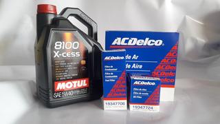 Cambio O Envío 3 Filtros (aceite, Aire Y Combustible) +aceite Motul 8100 5w40 X5l Vw Gol Trend- Voyage- Suran -fox