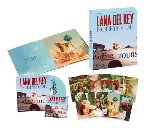 Box Honeymoon - Lana Del Rey Frete Grátis
