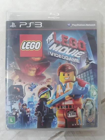 The Lego Movie Videogame Playstation 3 Ps3 Mídia Fisica