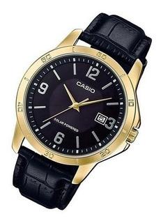 Reloj Casio Hombre,cristal Mineral,movimiento Solar,fechador