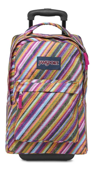 Mochila Jansport Wheeled Superbreak Multicolor Original