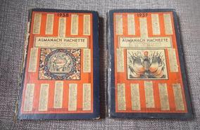 Almanaque Hachette Frances-1938 E 1939