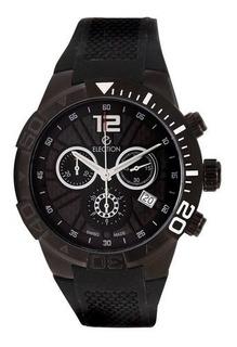 Reloj Election-hombre-cronografo -caucho