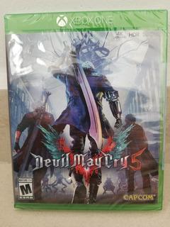 Devil May Cry 5 Xbox One Nuevo Sellado Fisico