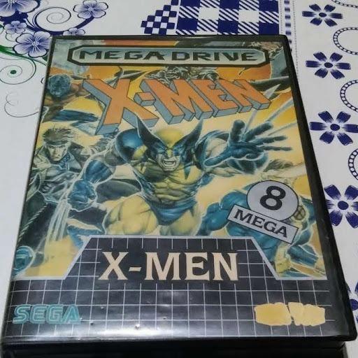 X-men Original Para Mega Drive Com Estojo E Encarte