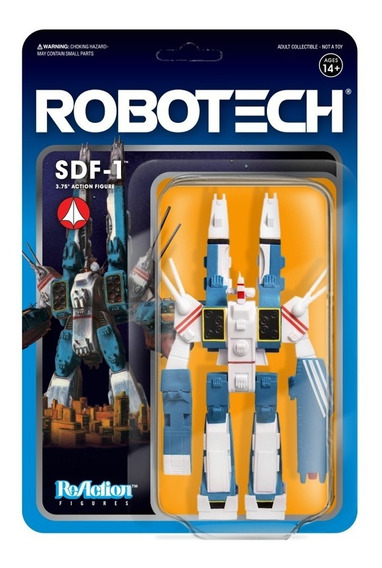 Super 7 Robotech Reaction Figure - Sdf-1
