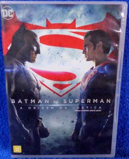 Dvd Batman Vs Superman A Origem Da Justiça Original