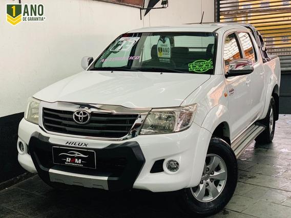 Toyota Hilux Cabine Dupla Hilux 2.7 Flex 4x2 Cd Sr (aut)
