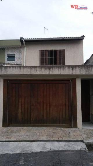 Sobrado Com 2 Dormitórios Para Alugar, 120 M² Por R$ 2.000/mês - Santa Terezinha - São Bernardo Do Campo/sp - So0740