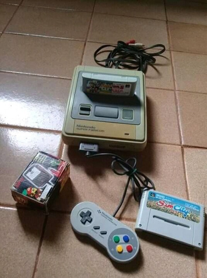Video Game Nintendo Superfamicon Japonês