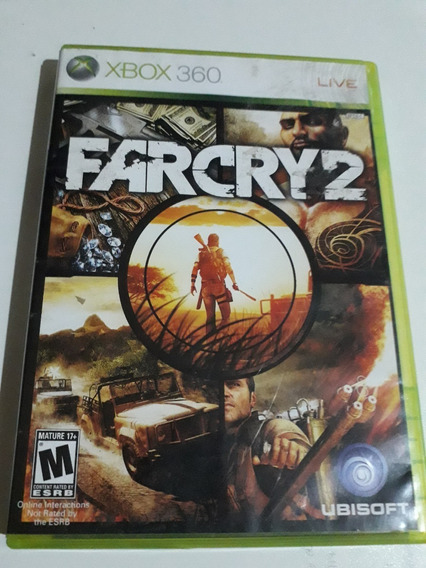 Farcry 2 Xbox 360 Mídia Física