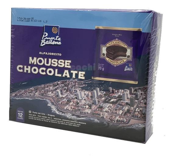 Alfajorcito Punta Ballena Mousse Chocolate X 12