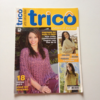 Revista Arte Com As Mãos Tricô Bolero Xale Blusa Bb457