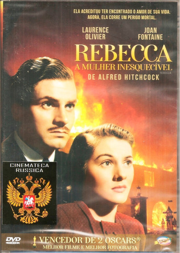 Dvd Rebecca Hitchcock Joan Fontaine Laurence Olivier  1940 +
